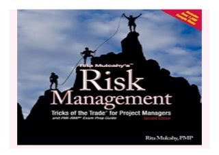 Risk Management Tricks of the Trade for. Project Managers + PMI-RMP Exam Prep Guide book 819