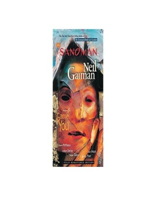 Sandman TP Vol 05 A Game Of You New Ed Sandman New Editions Nice
