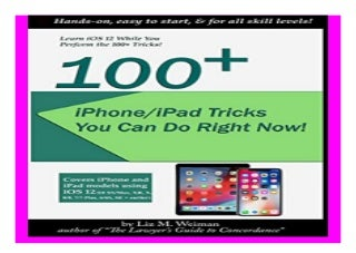 100+ iPhone/iPad Tricks You Can Do Right Now iOS 12 book 771