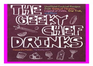 The Geeky Chef Drinks Unofficial Cocktail Recipes from Game of Thrones, Legend of Zelda, Star Trek, and More book 249