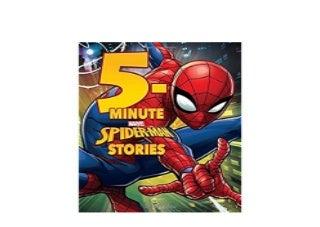 5Minute SpiderMan Stories 5Minute Stories Job
