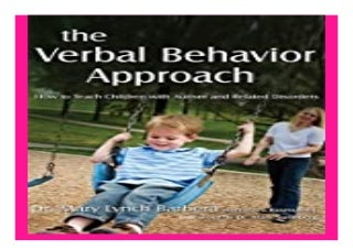 the. Verbal Behavior Approach How to Teach Children with Autism and Related Disorders book 523