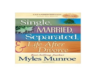 Single Married Separated and Life after Divorce Nice