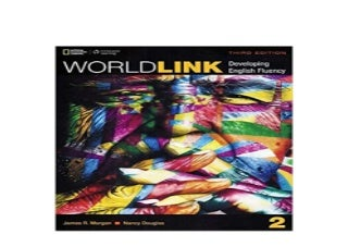 World Link 2 Student Book with My World Link Online World Link Third Edition Developing English Fluency 3rd Edition Nice