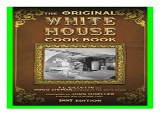 The Original White House Cook Book Cooking, Etiquette, Menus and More from the Executive Estate - 1887 Edition book 647