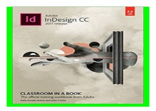 Adobe InDesign CC Classroom in a Book 2017 release book 557