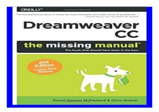 Dreamweaver CC The Missing Manual Covers 2014 release Missing Manuals book 187