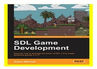 SDL Game Development Black amp White book 566