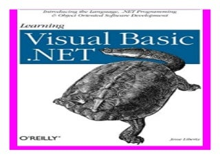 Learning Visual Basic.Net book 831