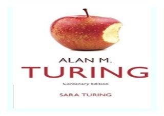Alan M. Turing Centenary Edition book 677
