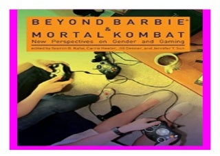 Beyond Barbie and Mortal Kombat New Perspectives on Gender and Gaming The MIT Press book 584