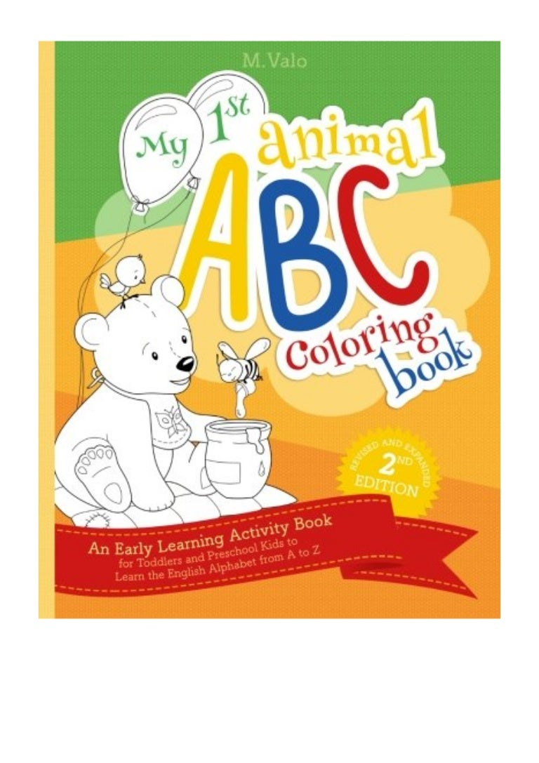 My First Animal ABC Coloring Book PDF   M. Valo An Activity Book ...
