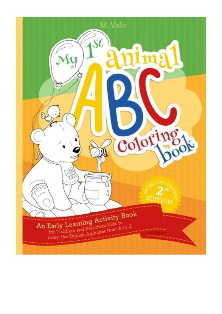 abc alphabet book pdf