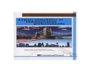 3pub~ Anglais immobilier et communication professionnelle BTS Professions ImmobiliAres Licences professionnelles Autres formations formations appliques A limmobilier