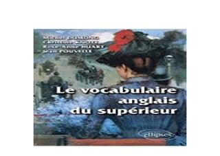 libre 3pub~ Le Vocabulaire Anglais du Suprieur