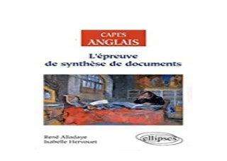 libre 3pub~ Lpreuve de synthAse de documents Anglais