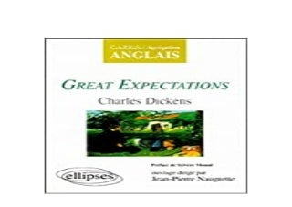 libre 3pub~ Great Expectations de Charles Dickens CAPESAgrgation Anglais