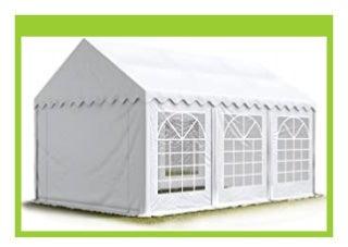 BEST PRODUCT TOOLPORT Party-Zelt Festzelt 4x6 m Garten-Pavillon -Zelt 500g/m� PVC Plane in wei� Wasserdicht review