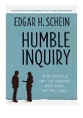 kindle$@@ Humble Inquiry The Gentle Art of Asking Instead of Telling review 'Full_Pages'