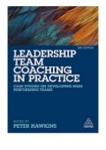 textbook_$ Leadership Team Coaching in Practice Case Studies on Developing High-Performing Teams review *E-books_online*
