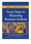 download_[p.d.f] Seven Steps to Mastering Business Analysis review '[Full_Books]'
