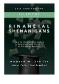 paperback$@@ Financial Shenanigans, Fourth Edition  How to Detect Accounting Gimmicks and Fraud in Financial Reports review ([Read]_online)