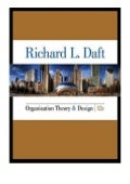 hardcover_$ Organization Theory and Design  12 Edition MindTap Course List review ([Read]_online)