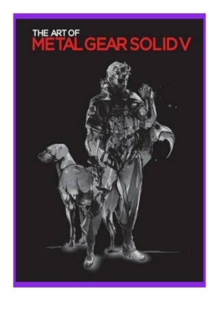 paperback_$ The Art of Metal Gear Solid V Limited Edition review ^^Full_Books^^