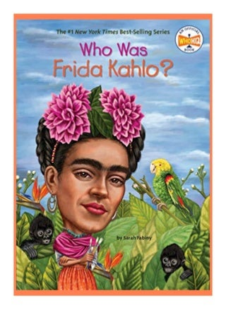 free ebook_ Who Was Frida Kahlo? review 'Read_online'