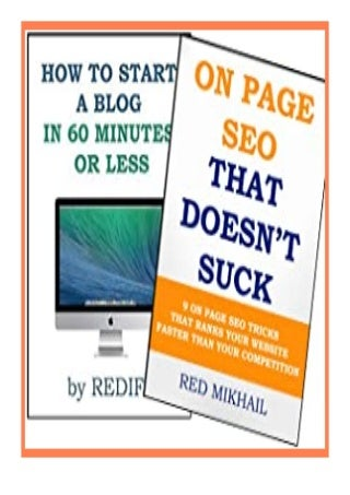 download online_ Start your new blog in 60 minutes or less Implement SEO that doesn't suck review ([Read]_online)