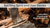 177  splitting epics and user stories (dave todaro)