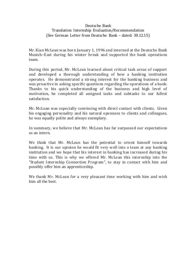 Intern evaluation letter mersnoforum intern evaluation letter spiritdancerdesigns Gallery