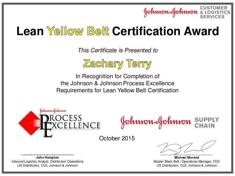 Zack Terry Yellow Belt