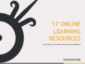 17 online learning resources and websites you should check out