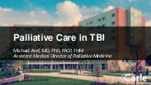 Palliative Care in TBI