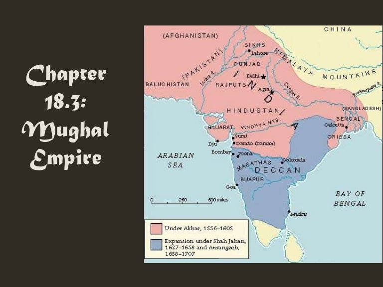 18 3 The Mughal Empire In India