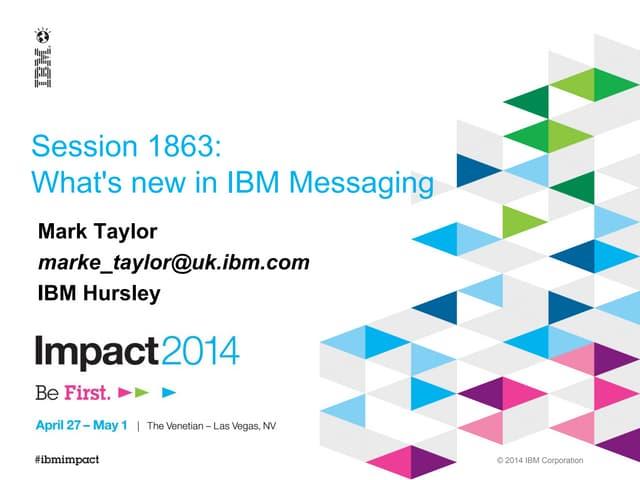 What's New in IBM MQ - Version 8