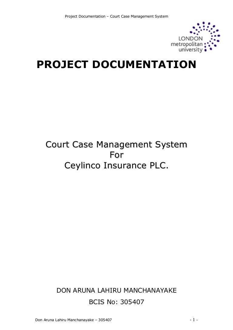 Court Case Management System
