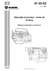 scania industrial and marine engines 12 litre engine service repair w rh slideshare net manual motor scania dc16 completo manual de montagem motor scania ds11