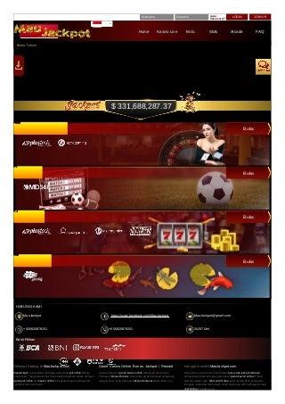 Maujackpot Bandar bola casino Online