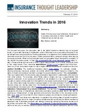 ITL - Innovation Trends in 2016