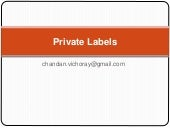 18 private labels