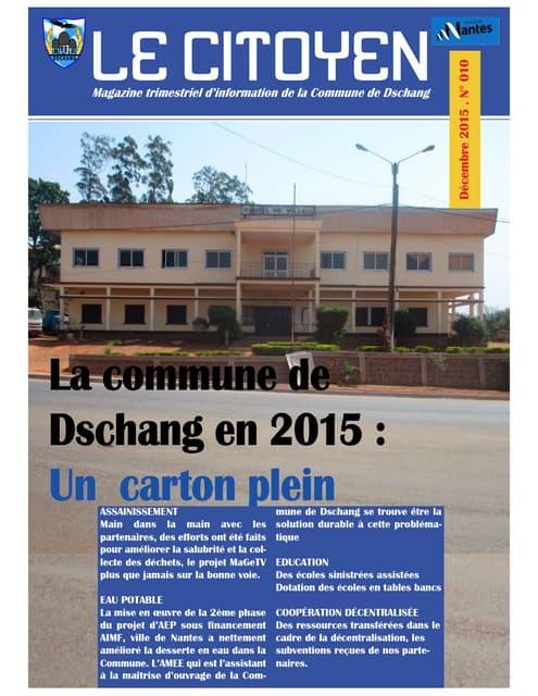 La Commune de Dschang en 2015( le citoyen new look)