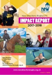 New Directions: Impact Report 2017-18