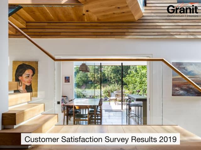 Granit's Customer Satisfaction Survey Highlights 2019