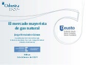 El mercado mayorista de Gas Natural