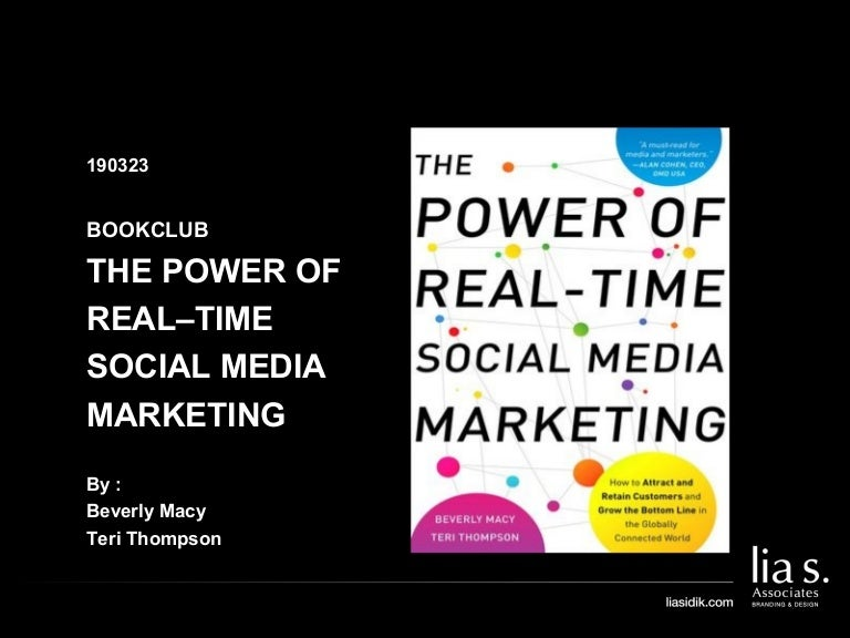 104 190322 Bookclub The Power Of Real Time Social Media Marketing