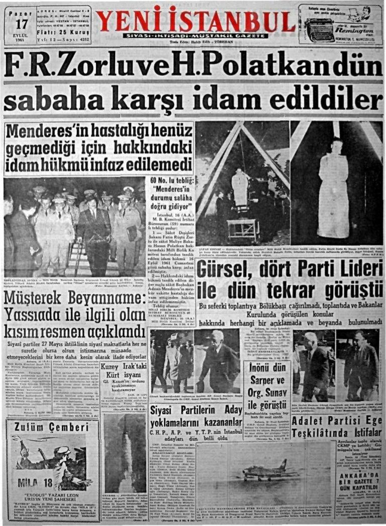 1961 1964 Gazete Başlıkları - horozz.net