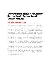 1983 1985hondavt750cvt700cshadowservicerepairfactorymanualinstantdownload 130501092254 phpapp01 thumbnail?cb=1367400211 1983 1985 honda vt750 c vt700c shadow service repair factory manual i Honda Motorcycle Wiring Diagrams at gsmportal.co
