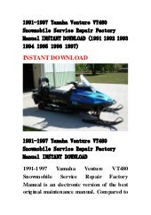 improved factory yamaha exciter 570 snowmobile shop manual